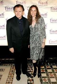 Harvey Keitel and Daphna Kastner at the Tisch School of the Arts