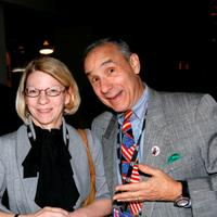 Jean Prewitt and Lloyd Kaufman at the 2008 AFM Independent Film & Television Alliance Member Cocktail Reception.