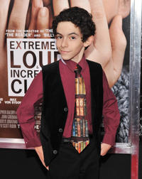 Sam Kaufman at the New York premiere of