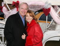 James Keach and Jane Seymour at the Ride Carriage to Benefit Breast Cancer Research.