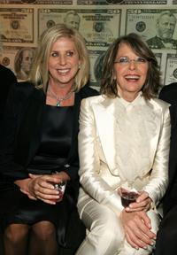 Diane Keaton and Callie Khouri at the