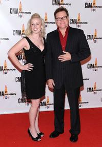 David Keith and Guest at the 43rd Annual CMA Awards.