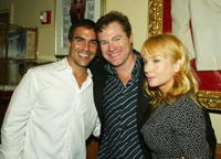Producer Anthony Rhulan, David Keith and Rebecca De Mornay at the after party of the premiere of