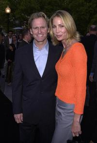 Jere Burns and Kathleen Kinmont at the premiere of