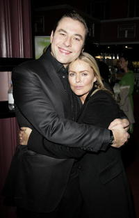 Patsy Kensit and David Walliams at the Charity Gala Performance
