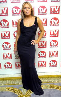 Patsy Kensit at the TV Quick & TV Choice Awards.