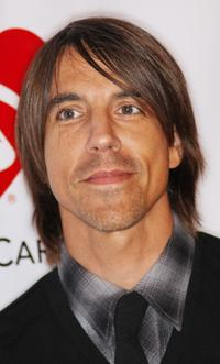 Anthony Kiedis at the fourth annual MusiCares Benefit Concert.