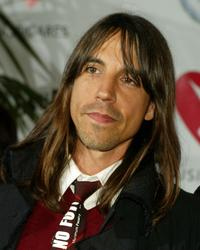 Anthony Kiedis at the MusiCares 2005 Person of the Year Tribute to Brian Wilson.