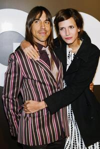 Anthony Kiedis and Nika at the GQ Magazine's