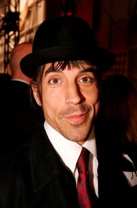 Anthony Kiedis at the Jenni Kayne Spring 2005 show during the Mercedes-Benz Fashion Week.