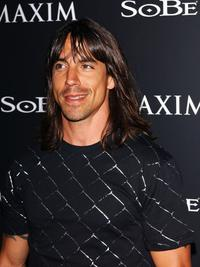 Anthony Kiedis at the Maxim Magazine and Sobe's