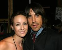 Anthony Kiedis and Jenni Kayne at the Jenni Kayne Fashion Show during the Mercedes-Benz Shows.