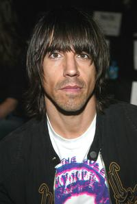 Anthony Kiedis at the Rosa Cha by Amir Slama Spring/Summer 2004 Collection during the Sixth Mercedes-Benz Fashion Week.