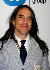 Anthony Kiedis at the Warner Music Group's 2007 Grammy Party.