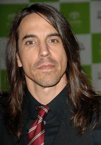 Anthony Kiedis at the 16th annual Environmental Media Awards.