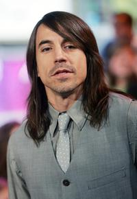 Anthony Kiedis at the MTV's Total Request Live.