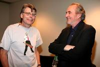 Stephen King and Wes Craven at New York Comic Con to promote the new movie
