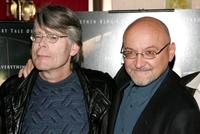 Stephen King and Frank Darabont at the premiere of