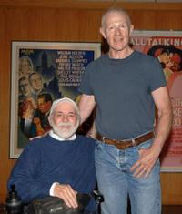 Ron Kovic and Raymond J. Barry at the screening of