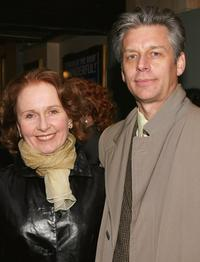 Kate Burton and Michael Ritchie at the Opening of Jumpers.