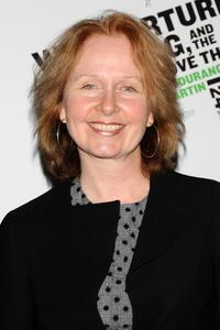 Kate Burton at the Off-Broadway opening night of