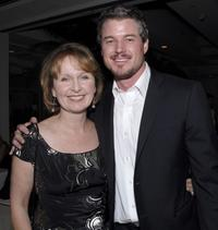 Kate Burton and Eric Dane at the Gersh Agency pre-Emmy party.