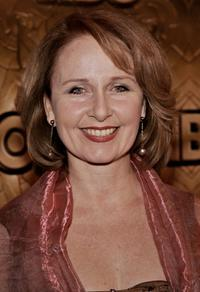Kate Burton at the HBO Golden Globe after party.