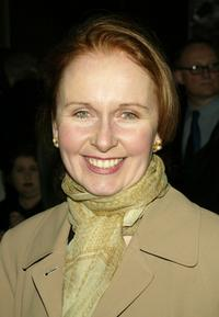 Kate Burton at the after party for opening night of