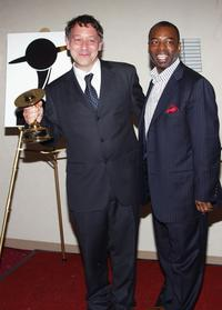 Levar Burton and Sam Raimi at the 31st Annual Saturn Awards.