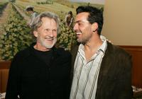 Kris Kristofferson and Oded Fehr at the afterparty for the premiere of