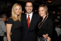 Lisa Kudrow, Richard LaGravenese and Hilary Swank at the luncheon of