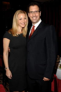 Richard LaGravenese and Lisa Kudrow at the Luncheon in Celebration of
