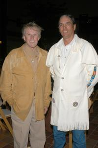 Gary Busey and Rob Premo at the American Indian College Fund Gala.