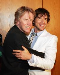 Gary Busey and Matthew Settle at the after party for the premiere of TNT's