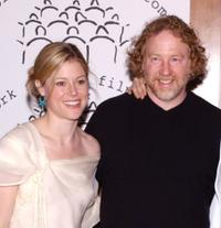 Timothy Busfield and Guest at the New York Stage and Film Benefit Gala.