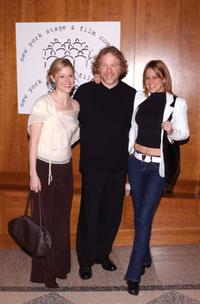 Timothy Busfield and two unidentified companions at the Film Benefit Gala.