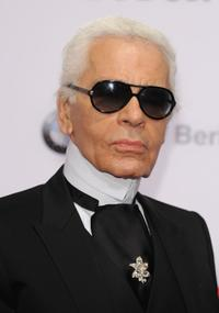 Karl Lagerfeld at the Viper Awards.