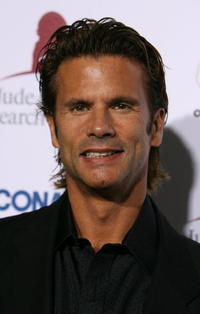Lorenzo Lamas at the Runway For Life Benefiting St. Jude Hospital.