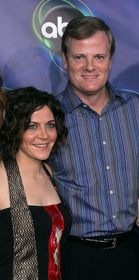 Alison Quinn and Jerry Lambert at the ABC TCA party in California.
