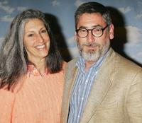 Deborah Nadoolman and John Landis at the 50th anniversary screening of