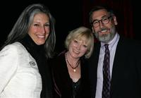Deborah Nadoolman, Catherine Adair and John Landis at the Rodeo Drive Walk of Style event.