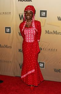 Akosua Busia at the Women in Film presentation of 2006 Crystal and Lucy Awards.