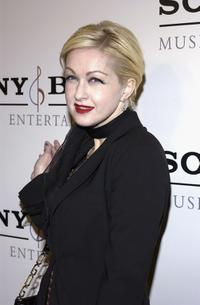 Cyndi Lauper at the Sony BMG Music Entertainment Grammy Party.