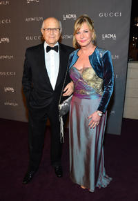 Norman Lear and Lyn Lear at the LACMA 2012 Art + Film Gala in California.