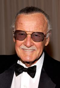 Stan Lee arrives at the Hollywood Awards Gala.