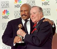 Jack Lemmon and Ving Rhames at the Golden Globe award.