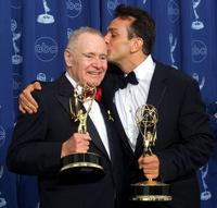 Jack Lemmon and Hank Azaria at the 52nd Annual Primetime Emmy Awards.