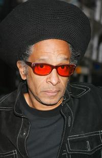 Don Letts at the Paul Simonon: New Paintings - private view.
