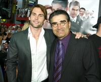 Eugene Levy and Seann William Scott at the premiere of