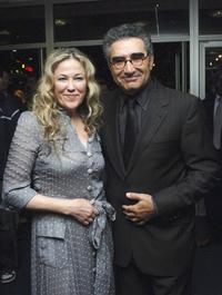 Eugene Levy and actress Catherine O'Hara at the